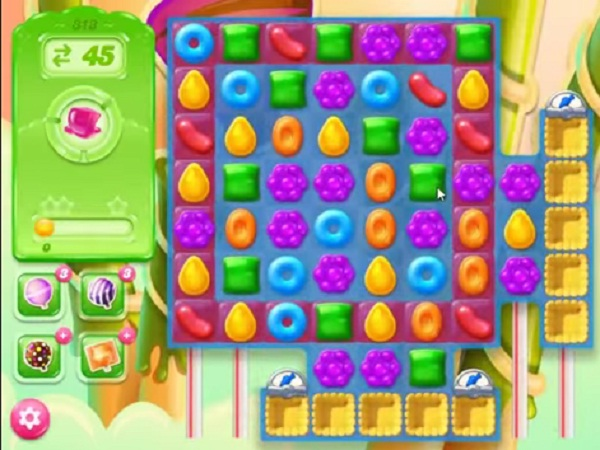 candy crush jelly level 313