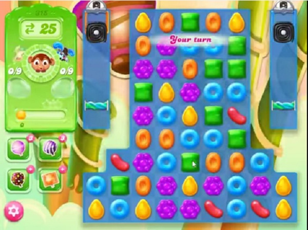 candy crush jelly level 315