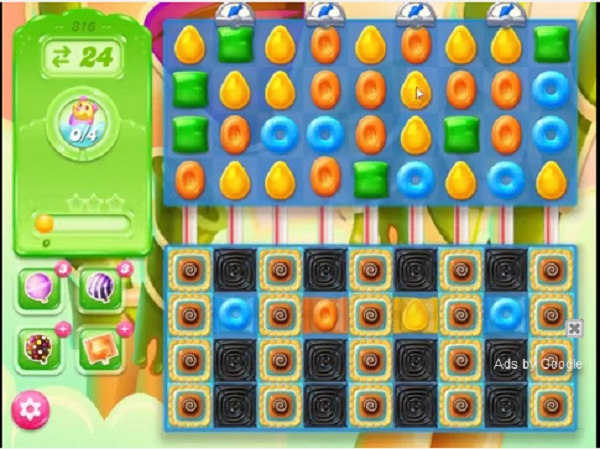candy crush jelly level 316