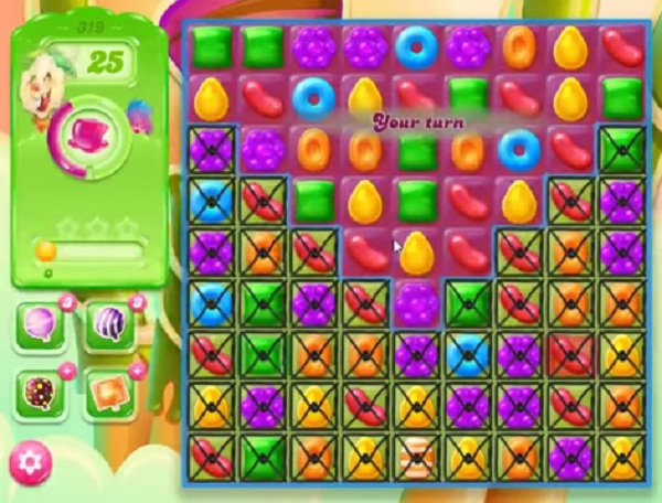 candy crush jelly level 319