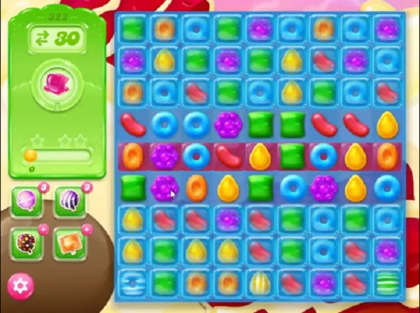 candy crush jelly level 322