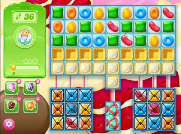 candy crush jelly level 326