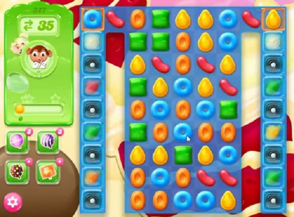 candy crush jelly level 327
