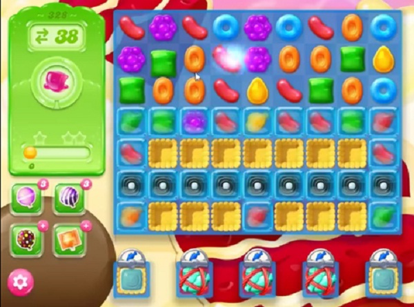 candy crush jelly level 328