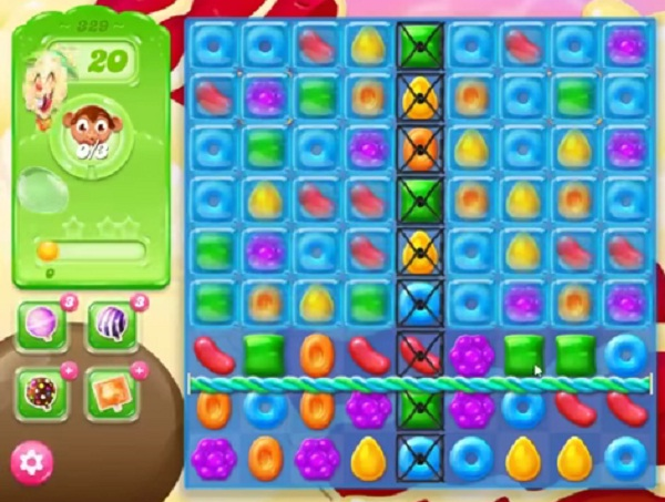 candy crush jelly level 329