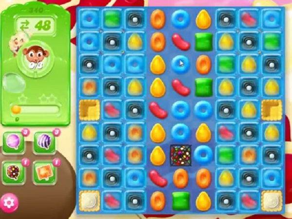 candy crush jelly level 340