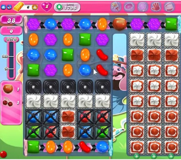 candy crush level 1796