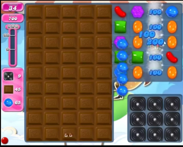 candy crush level 1818