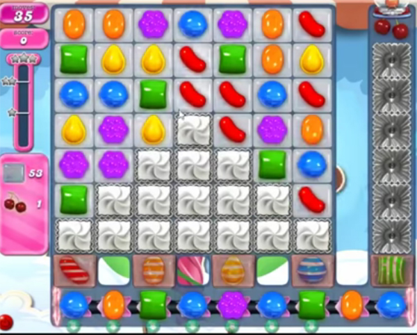 candy crush level 1819