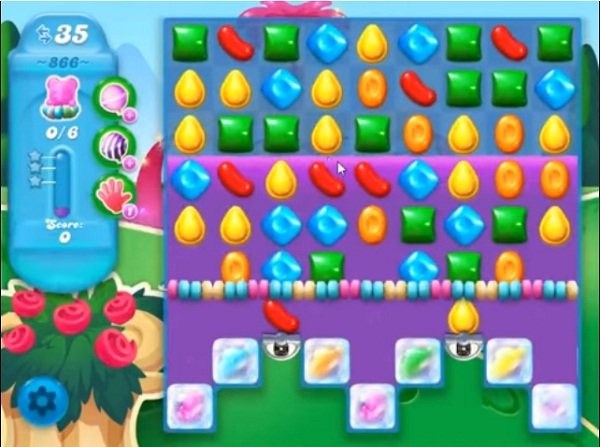 candy crush soda level 866