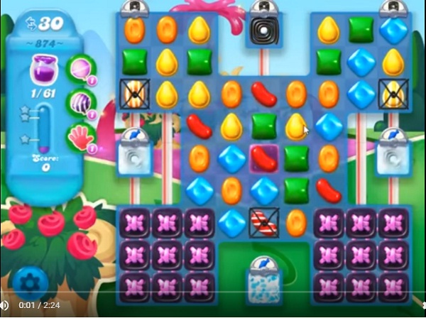 candy crush soda level 874