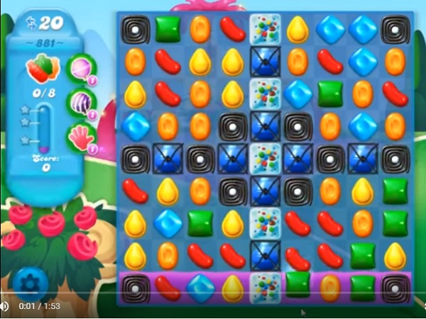 candy crush soda level 881