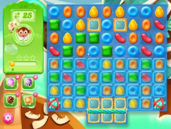 candy crush jelly level 341
