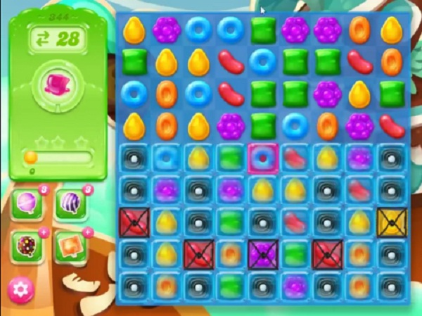 candy crush jelly level 344