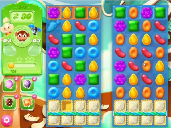 candy crush jelly level 345