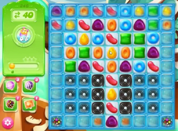 candy crush jelly level 346