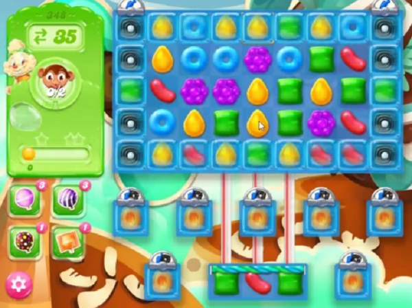 candy crush jelly level 348