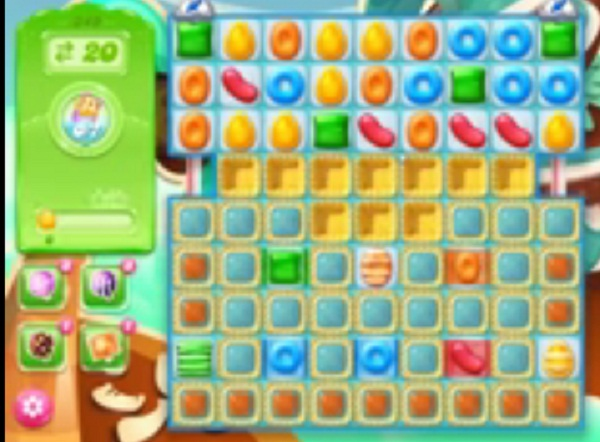 candy crush jelly level 349