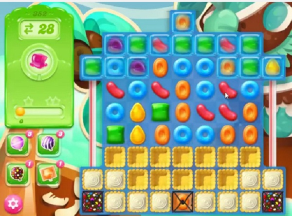 candy crush jelly level 352