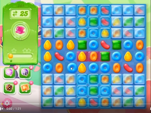 candy crush jelly level 361