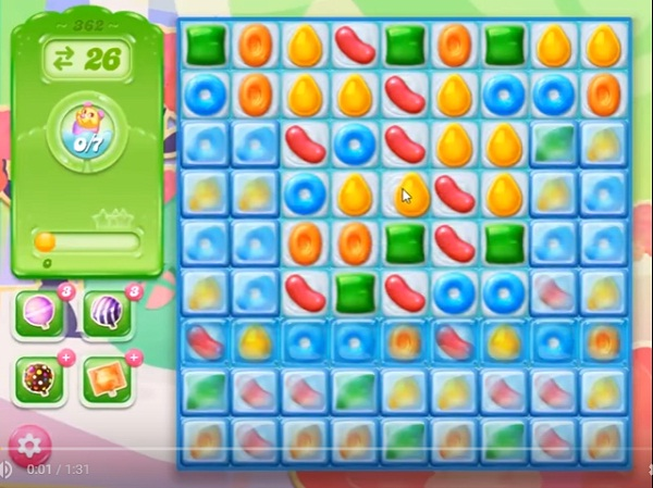 candy crush jelly level 362