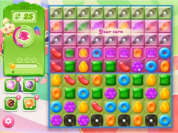 candy crush jelly level 363