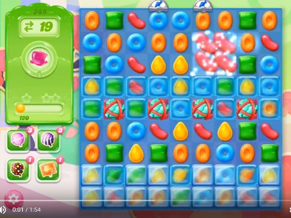 candy crush jelly level 365