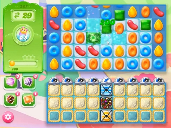 candy crush jelly level 367