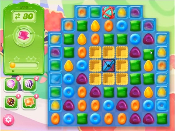 candy crush jelly level 370