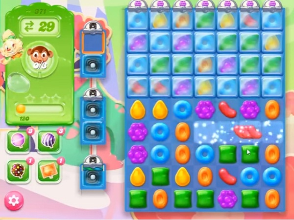 candy crush jelly level 371