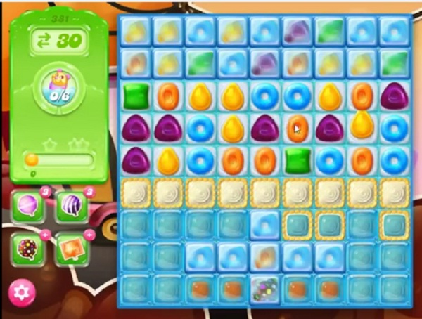 candy crush jelly level 381