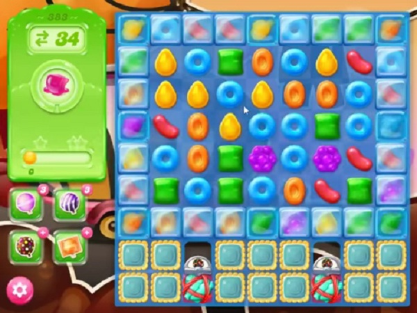 candy crush jelly level 383