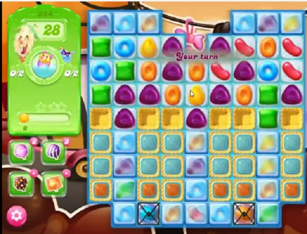 candy crush jelly level 384