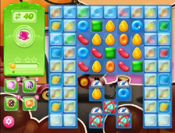 candy crush jelly level 386