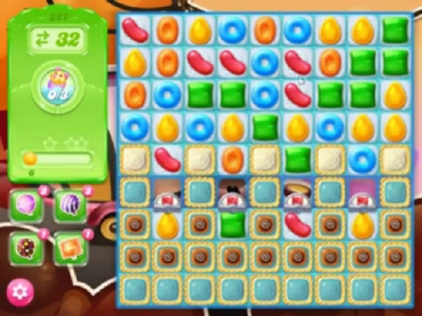 candy crush jelly level 387
