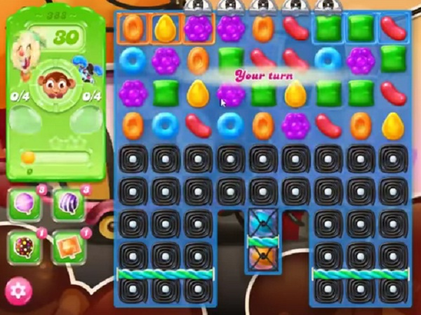candy crush jelly level 388