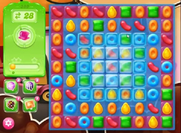candy crush jelly level 389