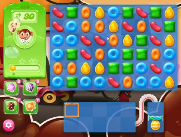 candy crush jelly level 390
