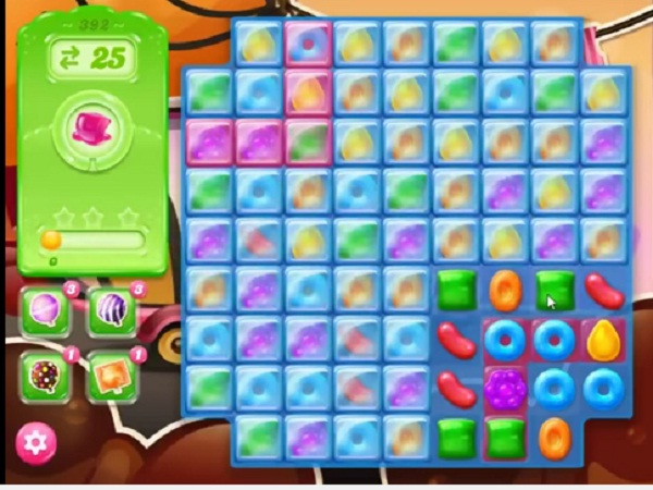 candy crush jelly level 392