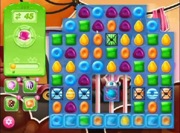 candy crush jelly level 395