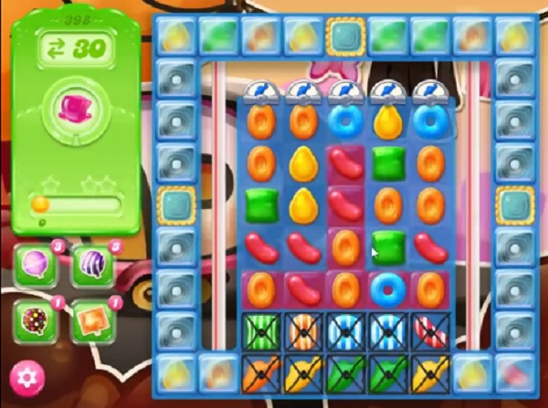 candy crush jelly level 398