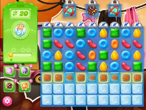 candy crush jelly level 399