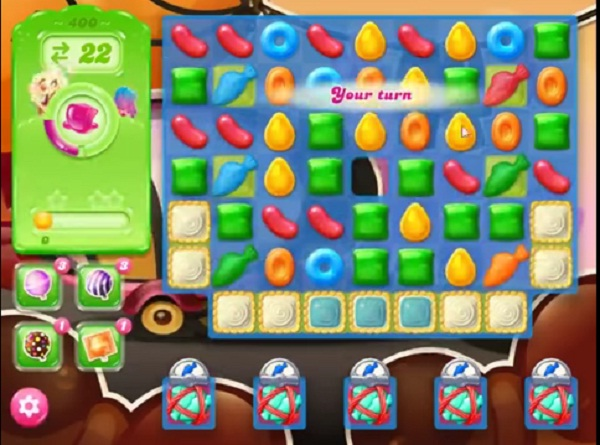 candy crush jelly level 400