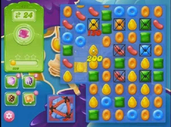 candy crush jelly level 421