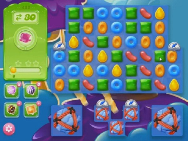 candy crush jelly level 422