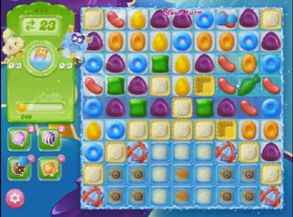 candy crush jelly level 424