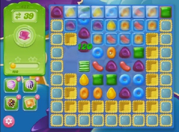 candy crush jelly level 427