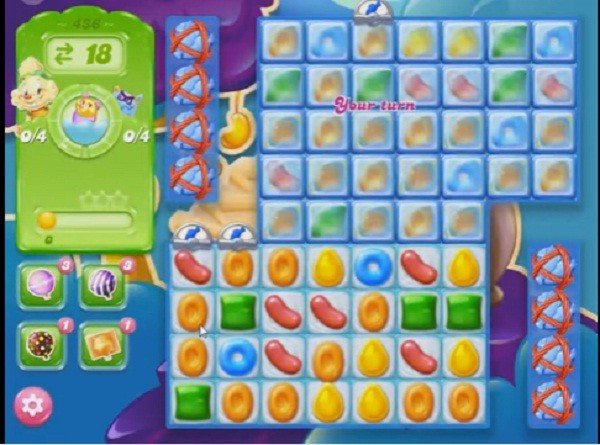 candy crush jelly level 436