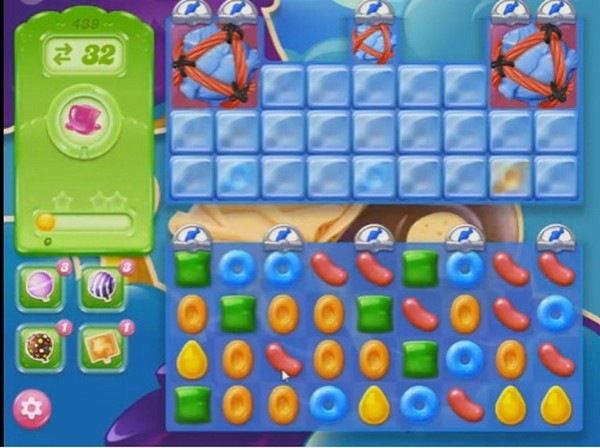 candy crush jelly level 439