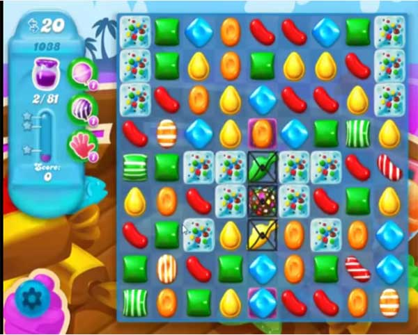candy crush soda level 1038